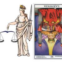 La JUSTICIA en los Arcanos del Tarot