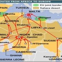 África guerras e inmigración