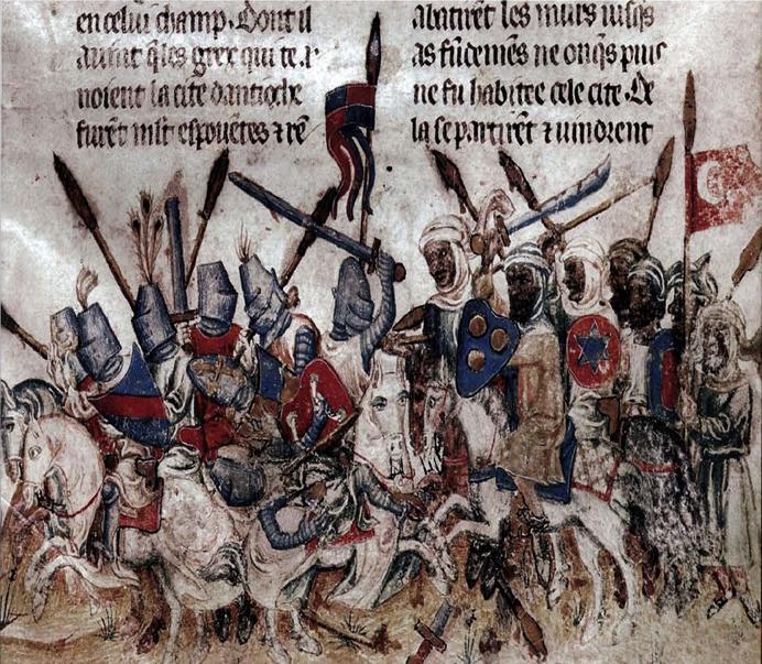 first-crusade-battle