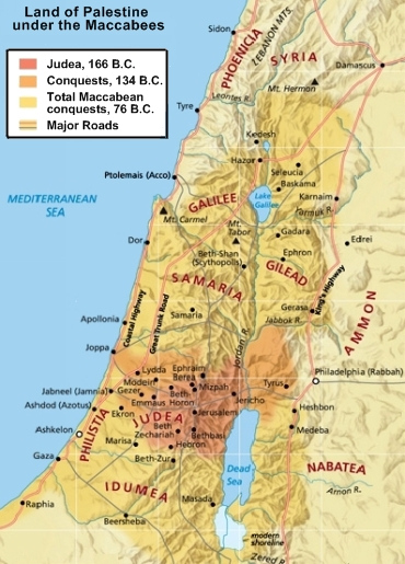 palestine-under-maccabees-map