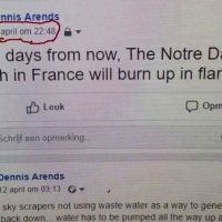 Se confirmaría Notre Dame fue un atentado de falsa bandera