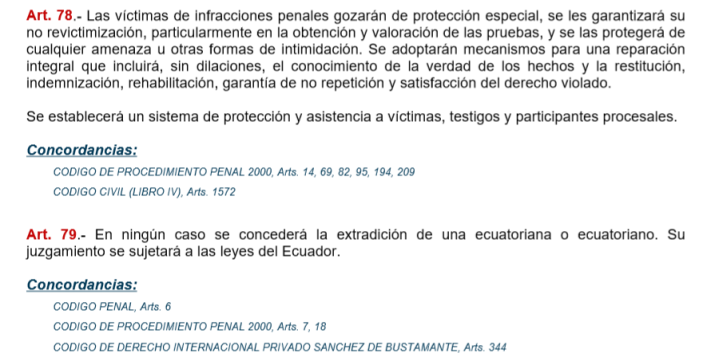 extradicion
